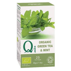 Qi Organic Green Tea & Mint - Hatton Hill