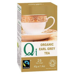 Qi Organic Earl Grey Tea - Hatton Hill