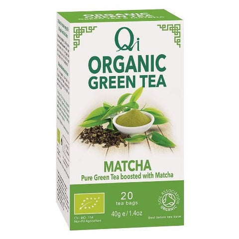 Qi Organic Green Tea & Matcha - Hatton Hill