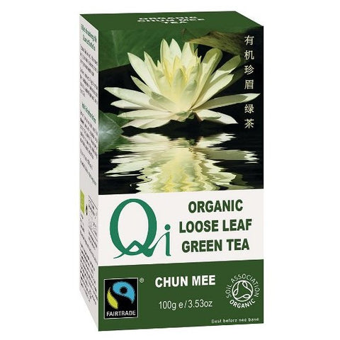 Qi Organic Loose Green Tea - Chun Mee (100g) - Hatton Hill