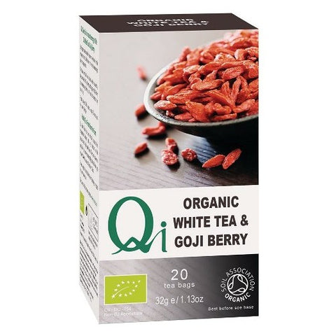 Qi Organic White Tea & Goji Berry - Hatton Hill