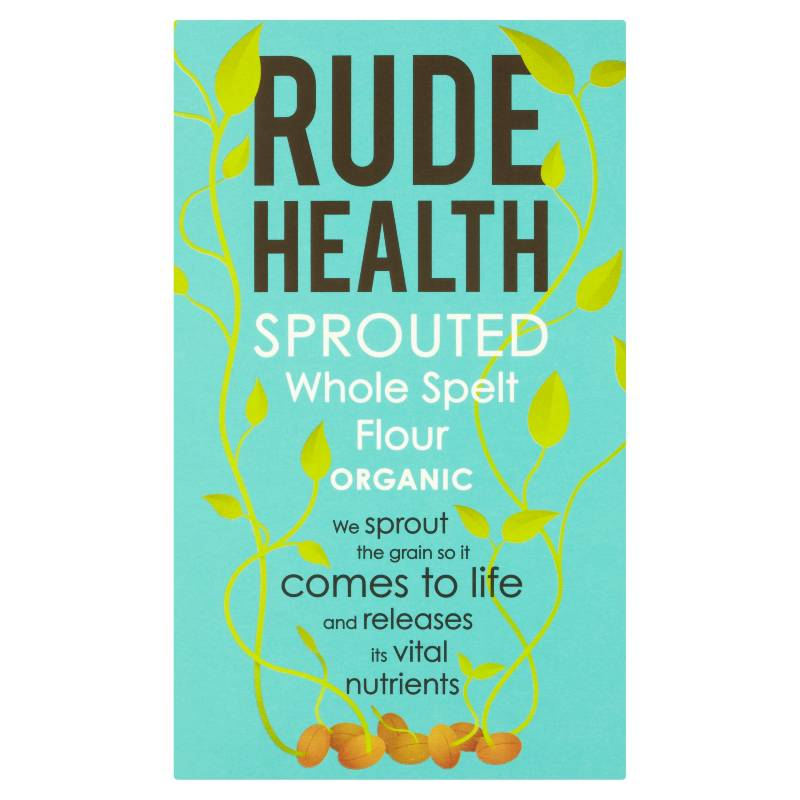 Rude Health Organic Sprouted Whole Spelt Flour (500g)