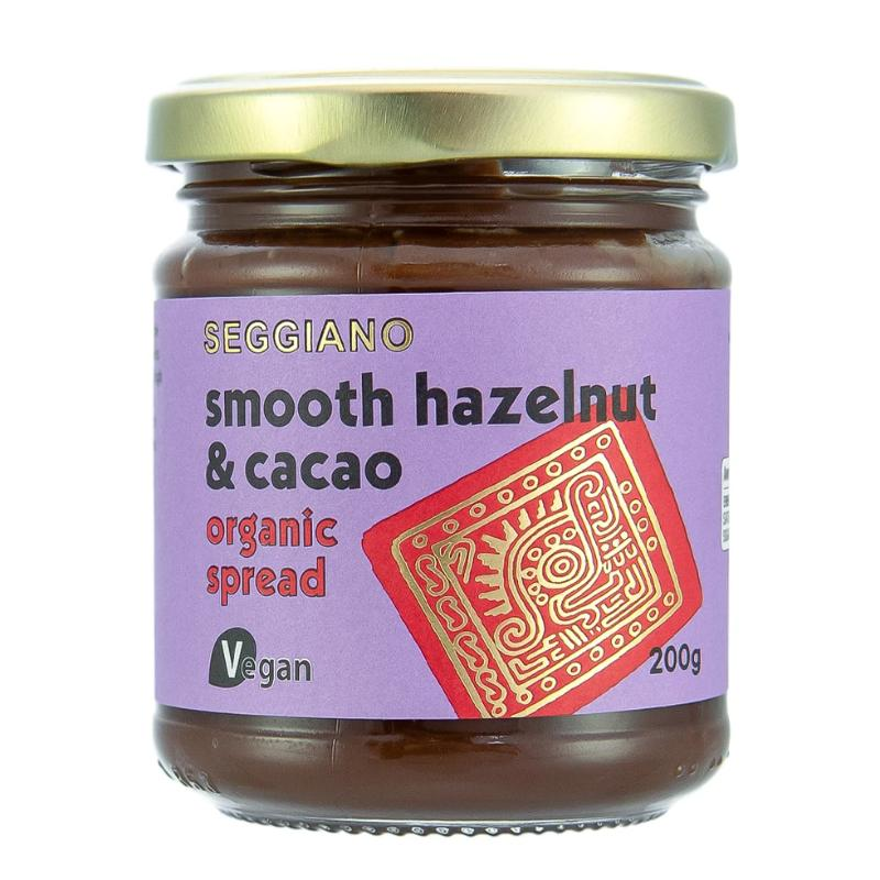 Seggiano Organic Smooth Hazelnut & Cacao Spread