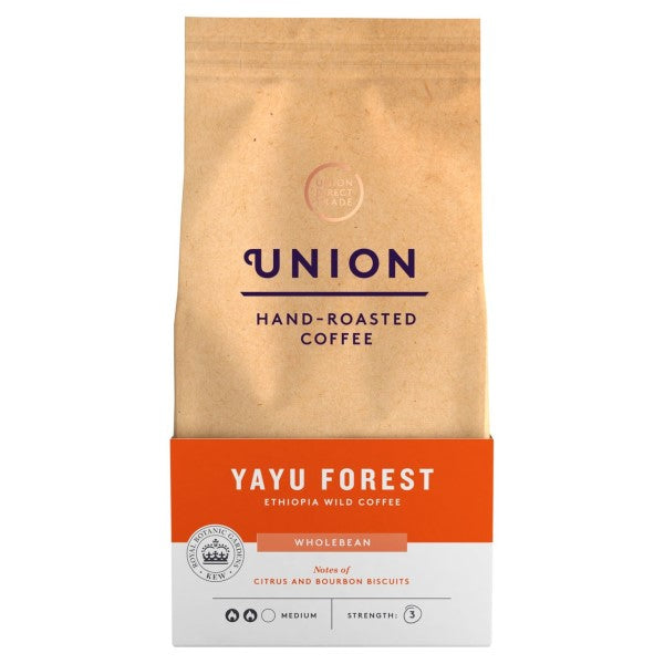 Union Yayu Forest Ethiopian Wild Whole Coffee Beans (200g)
