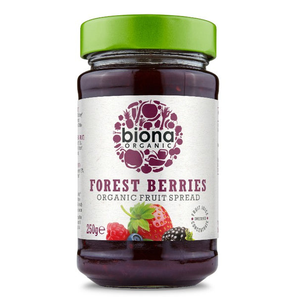 Biona Organic Forest Berries Fruit Spread (250g)