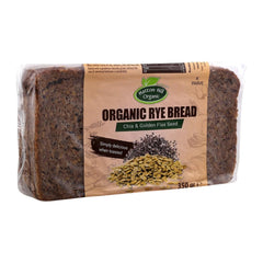 Organic Rye Bread with Chia Golden Flax Seed - Hatton Hill Organic