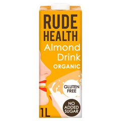 Rude Health Organic Almond Drink (1L) - Hatton Hill