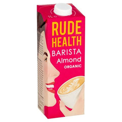 Rude Health Barista Almond Organic (1L) - Hatton Hill