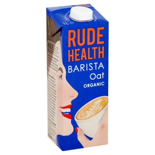 Rude Health Barista Oat Organic (1L) - Hatton Hill