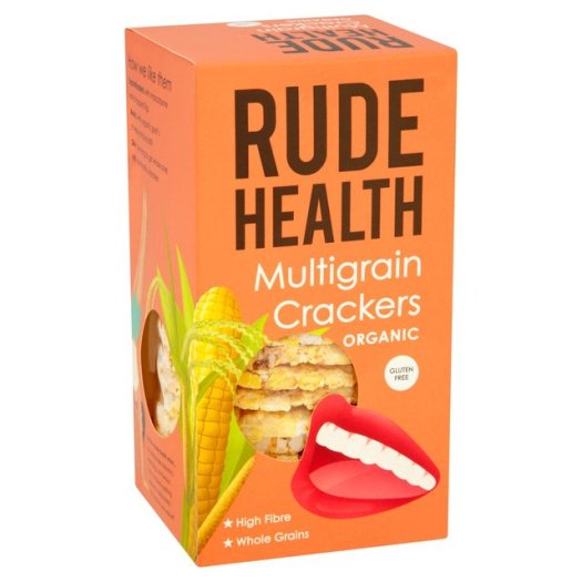 Rude Health Organic Multigrain Crackers (160g) - Hatton Hill