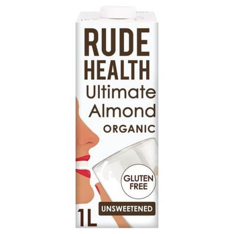 Rude Health Organic Ultimate Almond Drink 1Lt