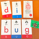 Big Letter-Sound Cards