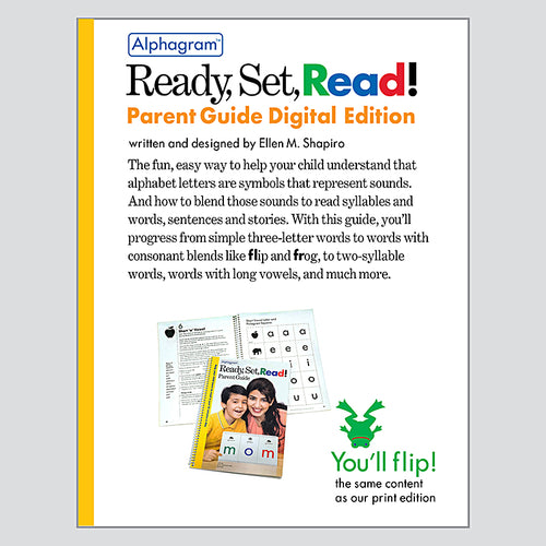 Ready, Set, Read! Parent Guide — Download Edition