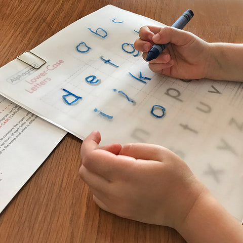 Tracing Letter Set, Download Edition