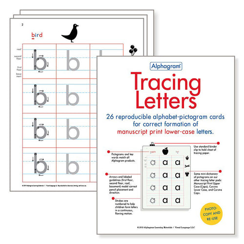 Learn to Write with Tracing Letters