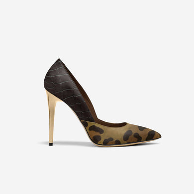 JAGUAR SPLIT STILETTO PUMP