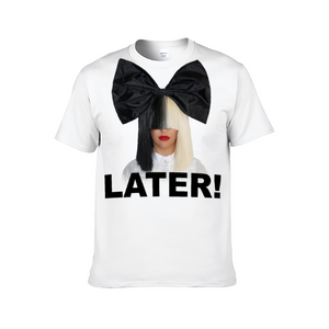 """Sia Later!"" Unisex T-shirt for Men and Women"