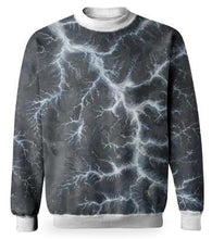 Load image into Gallery viewer, BLUE LIGHTNING SWEATSHIRT