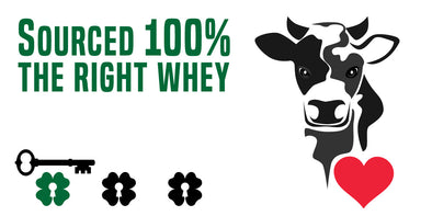 Happy Cows Make the most Nutrient Rich Milk - Whey Protein from Grassfed Farms is proven to have the most micro nutrients and BCAAs compared to grain fed cows from CAFOs