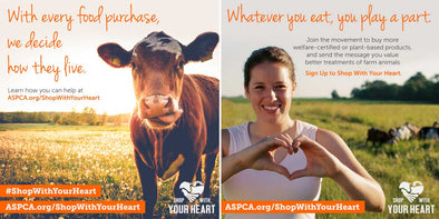 Shop With Your Heart - ASPCA Certifies AGN Roots Grassfed Whey