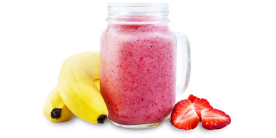 AGN Roots Smoothie Classic - The Best Grass-Fed Whey Protein Isolate, Organic Strawberries, Organic Bananas.  25 Grams Protein