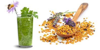 Bee Pollen Smoothie - Super Food Green Smoothie AGN Roots