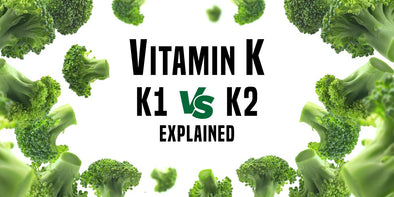 What is Vitamin k? Vitamin K1 vs. K2? What is the difference between Vitamin K1 and K2?