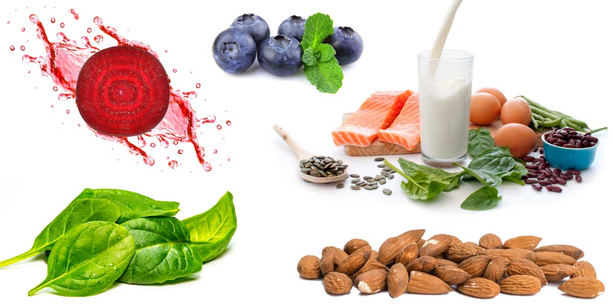 Natural Anti-Inflammatory Foods - Berries, Nuts, Salmon (Omega-3), Leafy Greens, AGN Roots Grass-Fed Whey Protein