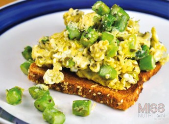 Fresh Asparagus Scramble Recipe