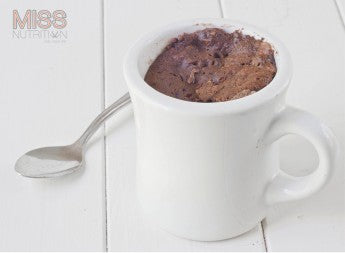 Chocolate Protein Mug Cake Recipe