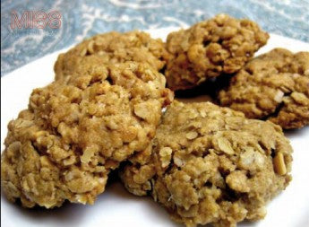 Oatmeal and Peanut Butter Ricotta Cookies Recipe