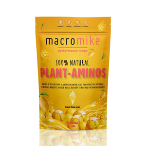 Macro Mike 100% Natural Plant Aminos- Tropical Mango / 30 Serves