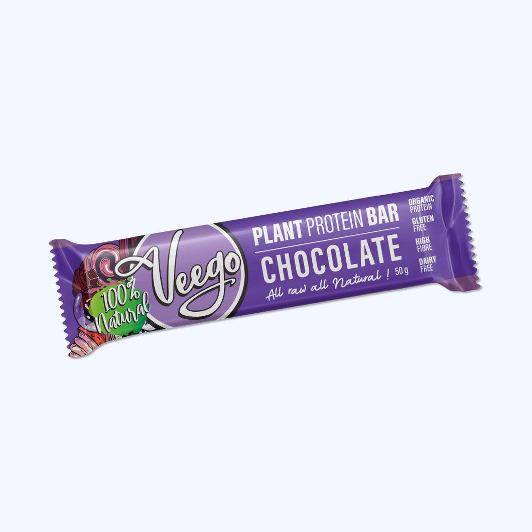 Veego Plant Protein Bar- Chocolate