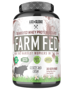 Axe & Sledge Farm Fed WPI / 30 Serves