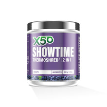 Load image into Gallery viewer, X50 SHOWTIME THERMOSHRED