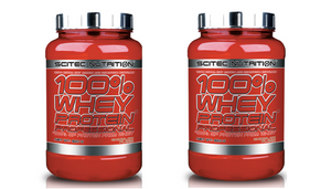 Scitec 100% Whey 2lb Multi Buy x2 Units