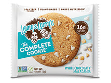 Load image into Gallery viewer, Lenny & Larry's The Complete Cookie- White Chocolate Macadamia