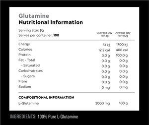 Switch Nutrition Glutamine / 100 Serves