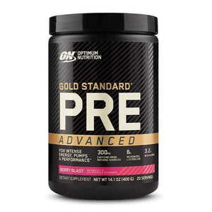 Optimum Nutrition Gold Standard Pre Advanced / 20 Serves