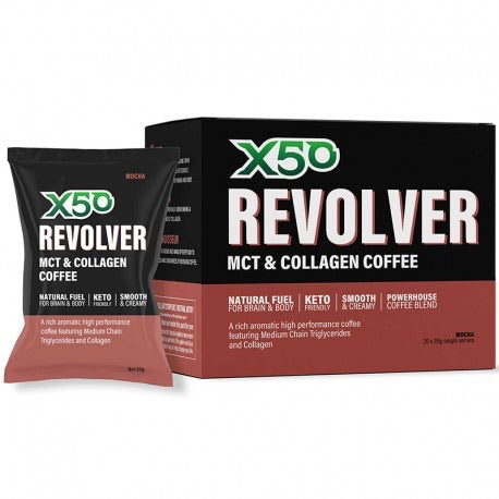 X50 Revolver MCT Coffee / 20 Serves