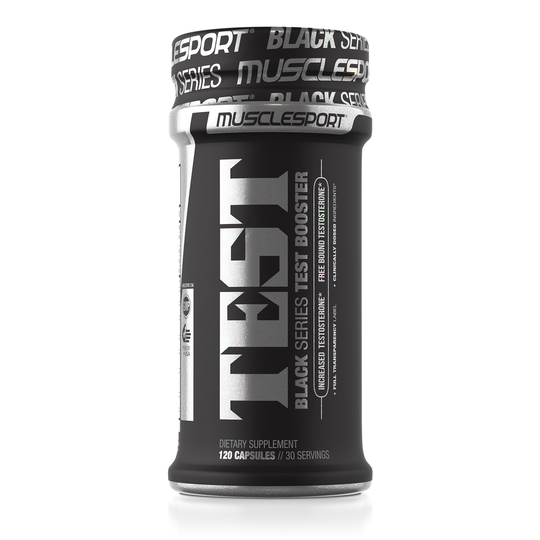 Muscle Sport Test Black / 120 Capsules