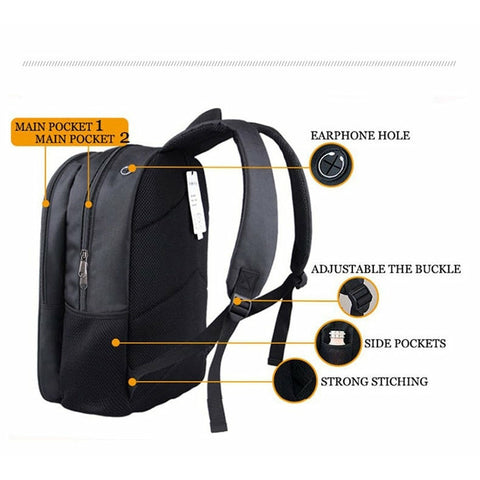 Image of Slim Sloth Travel Backpack