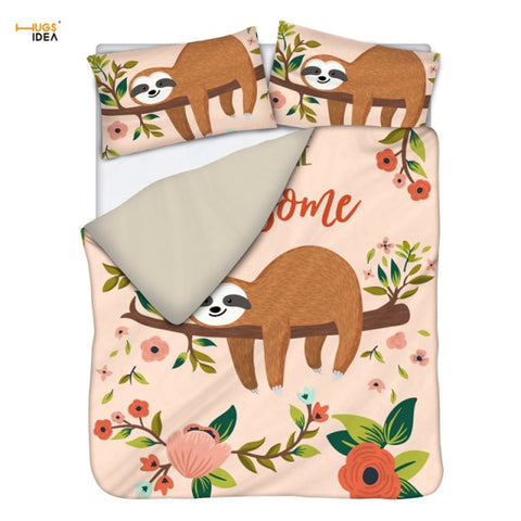 Awesome Sloth Bedding Set