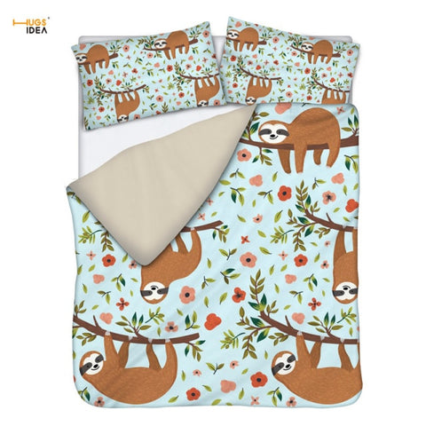 Nagging Sloth Bedding Set