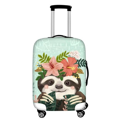 Aloha Sloth Luggage and Suitcase Cover
