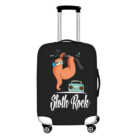 Sloth Rock Luggage Cover