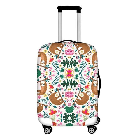Mirror Sloth Luggage Cover