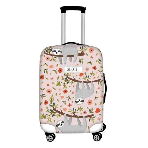 Sloth Name Luggage Cover