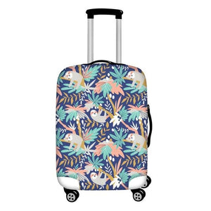 Paradise Sloth Luggage and Suitcase Cover - Sloth Gift shop
