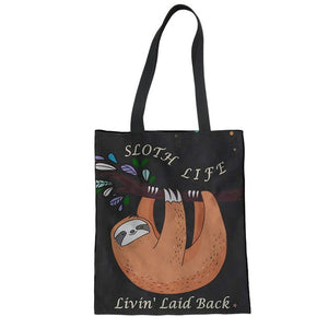 Life of Sloth Tote Bag